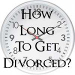 how long to get divorced