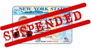 suspdned license